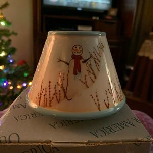 Candle Shade Our America Winterberries Diane Knott